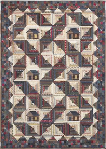 Quilting With Judy Martin -- Lessons, Blocks, and Quilting ... : colorado log cabin quilt - Adamdwight.com
